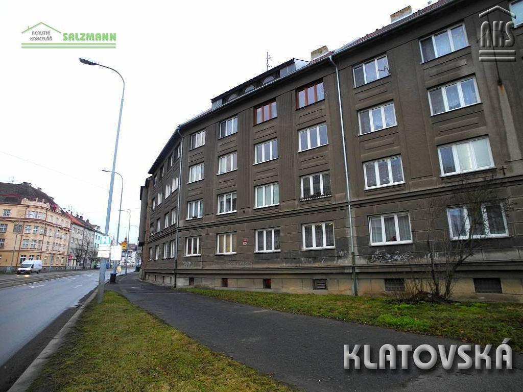 Byt 2+1 na pronájem, Plzeň