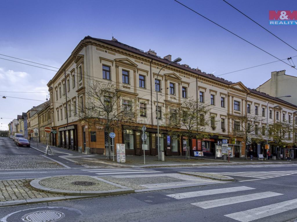 Pronájem 1+1, Plzeň - Resslova, 9966 Kč, 47 m2